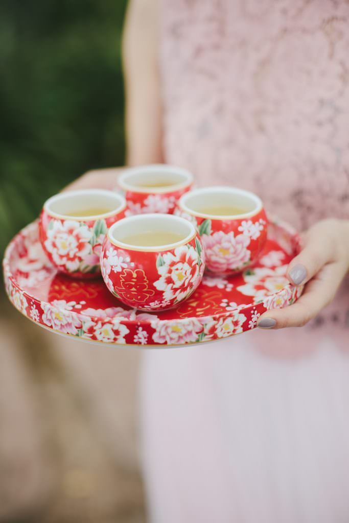 traditional red chinese wedding tea set www.melialucida.com