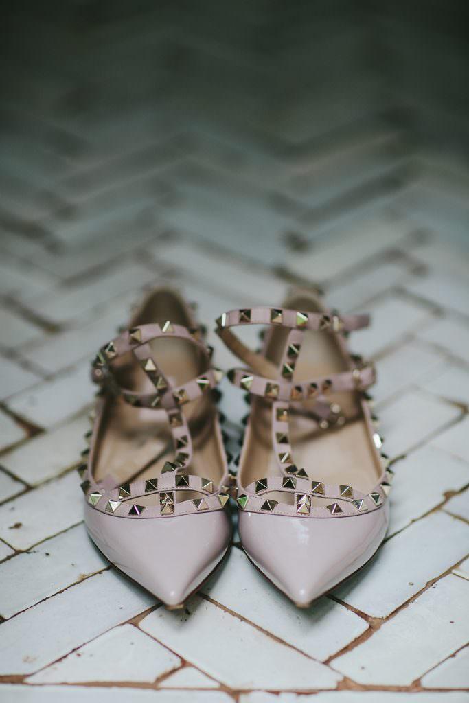 nude valentino wedding flats www.melialucida.com #valentino #shoes #nude