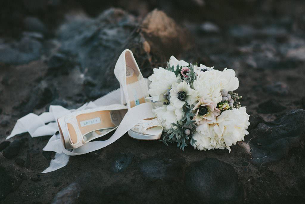 ivory #lace wedding shoes by kate whitcomb www.melialucida.com